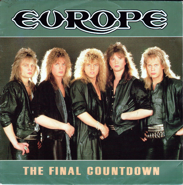 europe final countdown cover