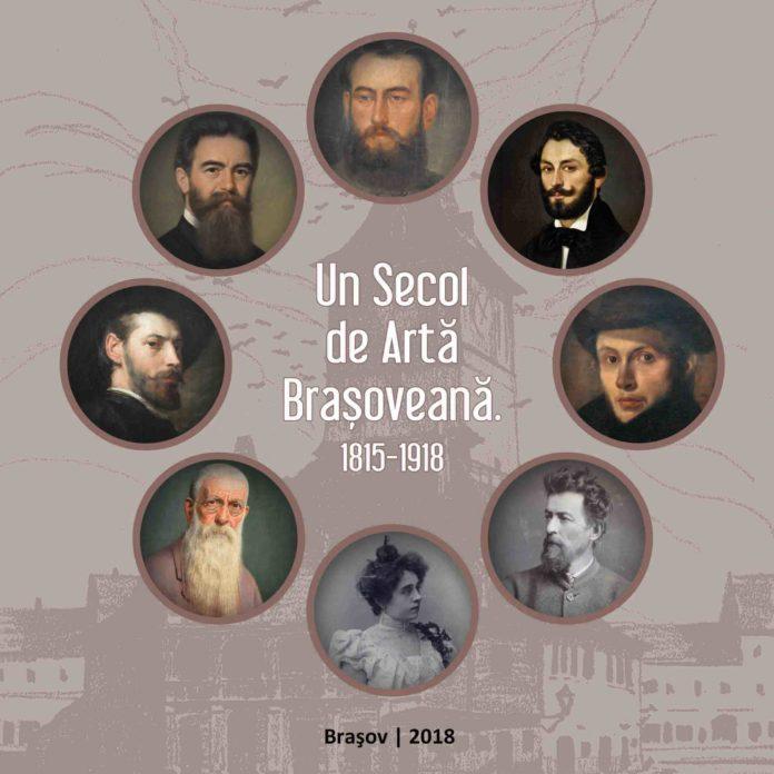 """Coperta """"Un secol de artă brașoveană. 1815-1918"""""""
