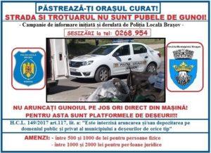campanie politia locala brasov